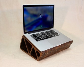 Plywood Laptop Stand - Self Cooling