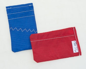 Minimal Veho wallet, Spinnaker Sail Nylon, Recycled Sailcloth