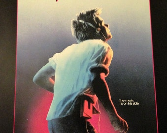 Program for Footloose, movie. 1984.