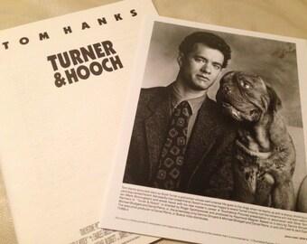Movie press kit, Turner and Hooch, 1989
