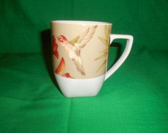 "One (1),  222 Fifth, PTS International, 4"" Mug, in the Antigua Pattern."
