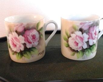 Vintage Tea Cups -- Made in  Japan