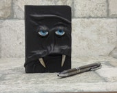Sketchbook Diary Notebook Journal Black Leather Monster Labyrinth Harry Potter Pocket Book Of Shadows