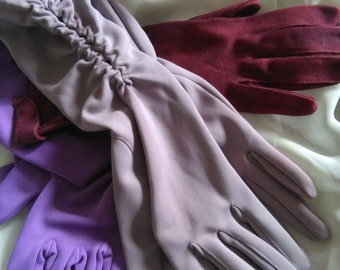 Vintage trio of gloves