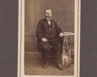 Reutlinger CDV of a Distinguished Looking Gentleman