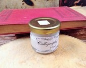 Calligraphy White Ink for Dip Pens and Quills - Natural Pigment Ink from Mineral and Stones - Ideal for Copperplate