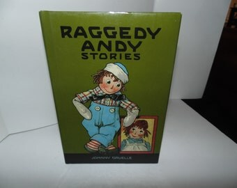 Vintage 1993 HCDJ Johnny Gruelle book Raggedy Andy Stories HC 90s