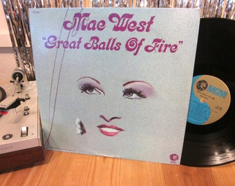 Mae West - Great Balls Of Fire - Hollywood - Light My Fire *Doors cover - Rock N Roll - Oddity