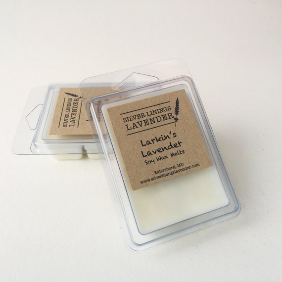 Larkin's Lavender Soy Wax Melts / Lavender Vanilla Wax Melts / Aromatherapy for Grief / Infant Loss Awareness / Larkin's Legacy