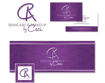 Facebook Marketing Package - Online Business Branding - Custom Logo, Banner, Avatar, Business Card - Custom Design