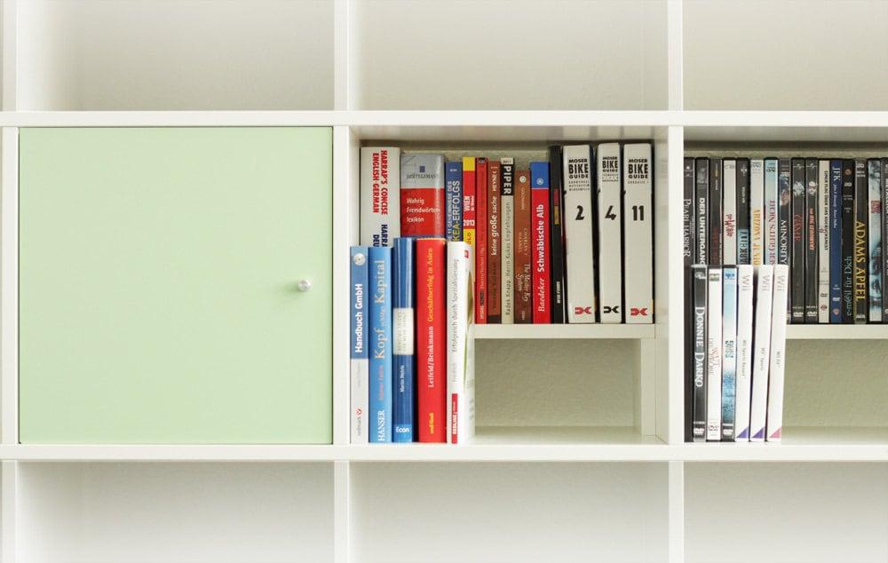 dvd bluray usage for ikea kallax shelf birch. Black Bedroom Furniture Sets. Home Design Ideas