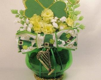 St. Patrick's Day Floral Arangement