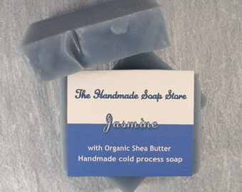 Jasmine: Handmade Cold Process Soap with Shea Butter 110g/4oz
