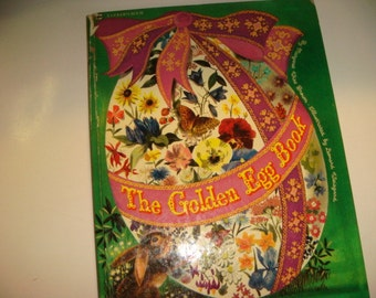 1976 The Golden Egg Book Big Little Golden Book ( First Edition) Profusely Illustrated