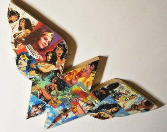 Wonder Woman Logo Wall Plaque (made to order)