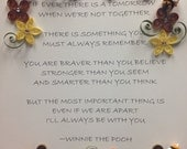 Quilling Framed Art | Inspirational Quote | Honey Bee