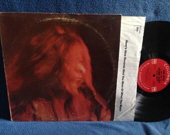 "Vintage, Janis Joplin - ""I Got Dem Ol' Kozmic Blues Again Mama!"" Vinyl LP Record Album, Original 1969 2-Eye, Try Just A Little Bit Harder"