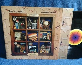 "Vintage, Three Dog Night - ""American Pastime"" Vinyl LP, Record Album, Original First Press, Dance The Night Away, Mellow Down, Billy The Kid"