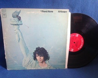 "Vintage, Al Kooper - ""i Stand Alone"" Vinyl LP Record Album Original 1st Press, Blue Moon of Kentucky, Right Now For You, Classic Rock"