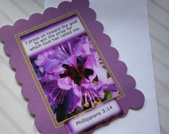 5x7 Magnetic Picture frame Phil. 3:14