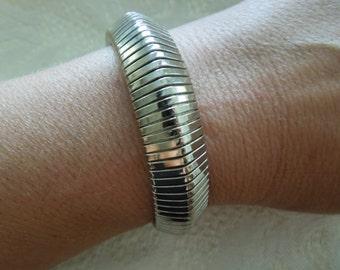 Vintage Bracelet, Flexible, Steel. Simple  Excellent Condition