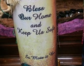 House Blessing/House Cleansing 7 Prayer/Spell Day Candle