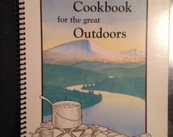 """Vintage cookbook - """"The little Cookbook for the great outdoors""""- Yukon Edition"""