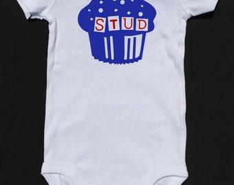 Stud Muffin Baby Onesie Kids Top