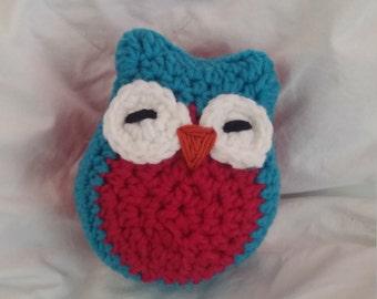 Stuffed crochet owl