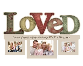 Personalized Loved Photo Collage Frame
