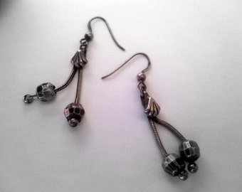 Beautiful Silver Earrings from India.