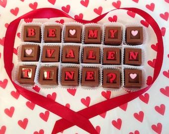 Be My Valentine Chocolates