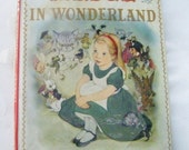 25% Off Storewide Sale Rare 1955 Alice In Wonderland By Lewis Carroll Hardcover Book With Dustjacket Illustrated B Marjorie Torrey