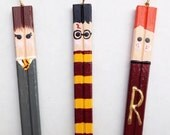Harry Potter Chopstick Ornament Set