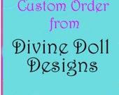Custom Order for kglenn2009