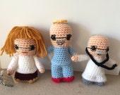 Custom made Doctor Figures