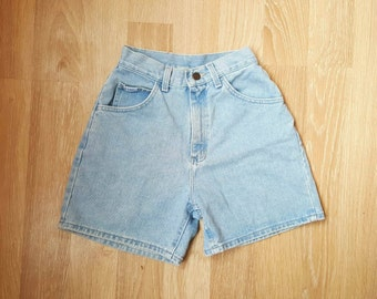 VINTAGE DENiM SHORTS Lee Size XS Denim Shorts