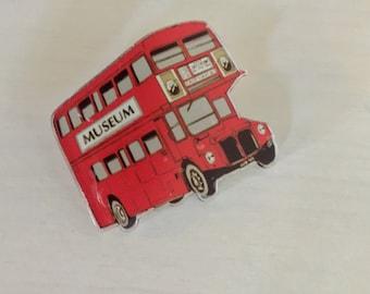 London Bus Brooch