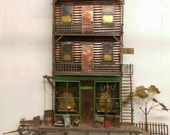 Vintage C. Jere Western Hotel Store Curtis Jere Mid Century Modern