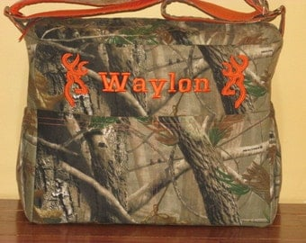 Embroidered Realtree Diaper Bag & Changing Pad Ready to Ship