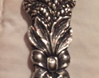 Victorian Wheat Sheath Design Silver Spoon Sterling Silver Souvenir Spoon