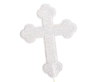 cross cake topper baptism cake topper communion cake topper christening 3193