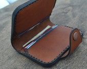 Leather Wallet- Wallet-Leather Card Holder Leather-Handmade Brawn