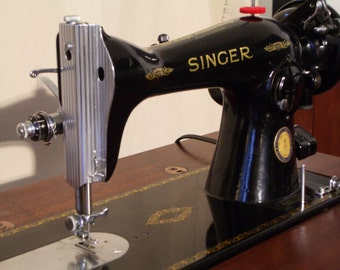Singer 15-91 Centennial Sewing Machine Set