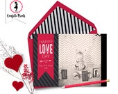 Valentine Photo Card - HAPPY LOVE DAY Printable