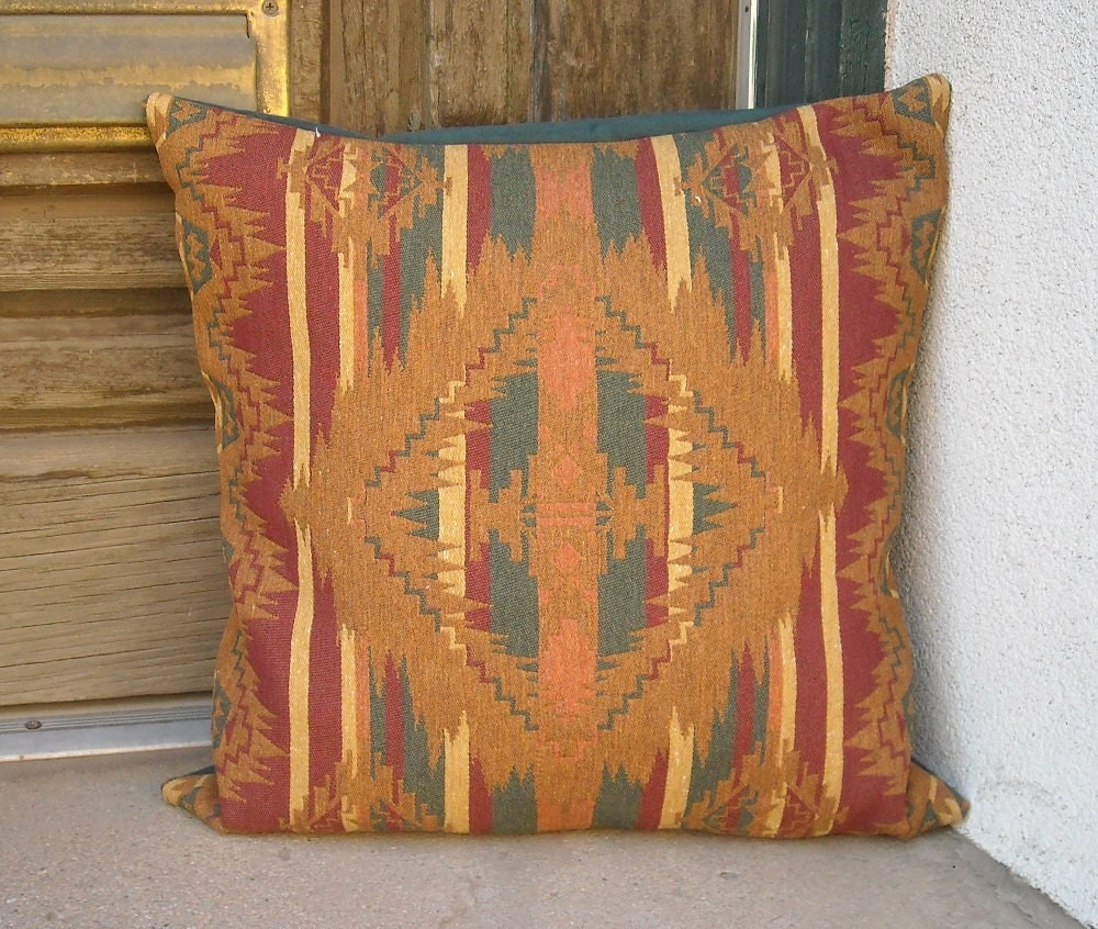 Southwestern Pillow Covers : Southwestern pillow cover 18 x 18 hardwearing