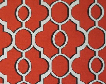 OUTDOOR Pillow Cover / Orange Pillow Cover / Geometric Pillow Cover / Pillow Cover