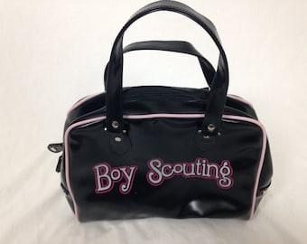 "cute ""boy scouting"" purse"