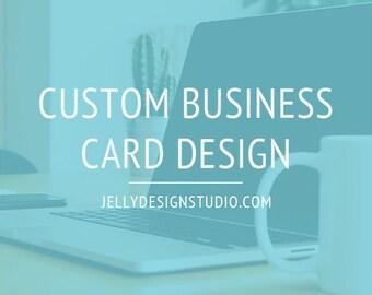 Custom Business Card Design - Digital Business Card Design