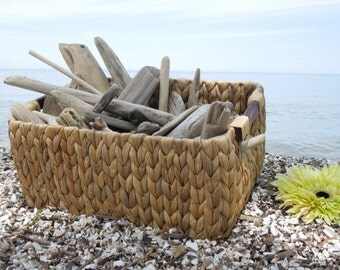 "Large Bulk Driftwood, 50 Driftwood Pieces Approximately 2""-12"", Drift Wood Supplies for Crafts, Beach Wedding Decor, Lake House Decor"